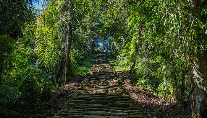 randonnée colombie
