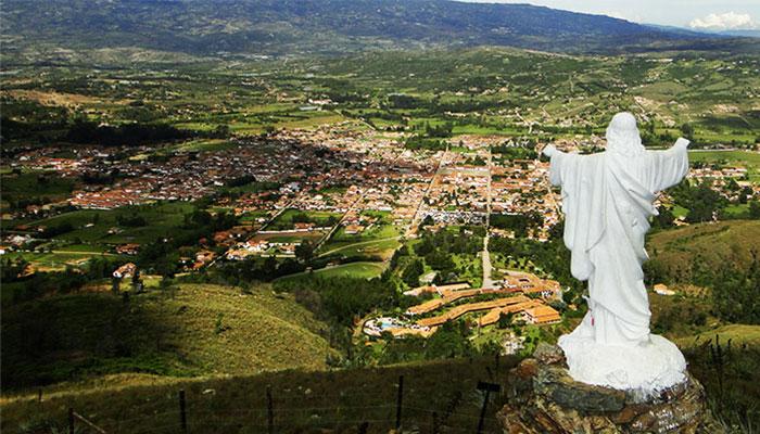 mirador colina el santo