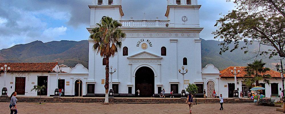 villes coloniales colombie