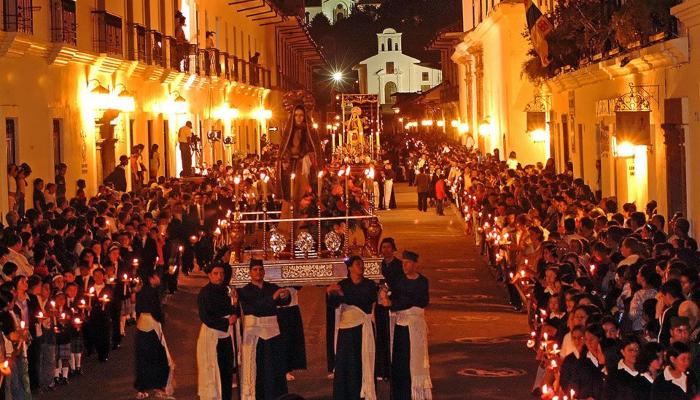 popayan procession